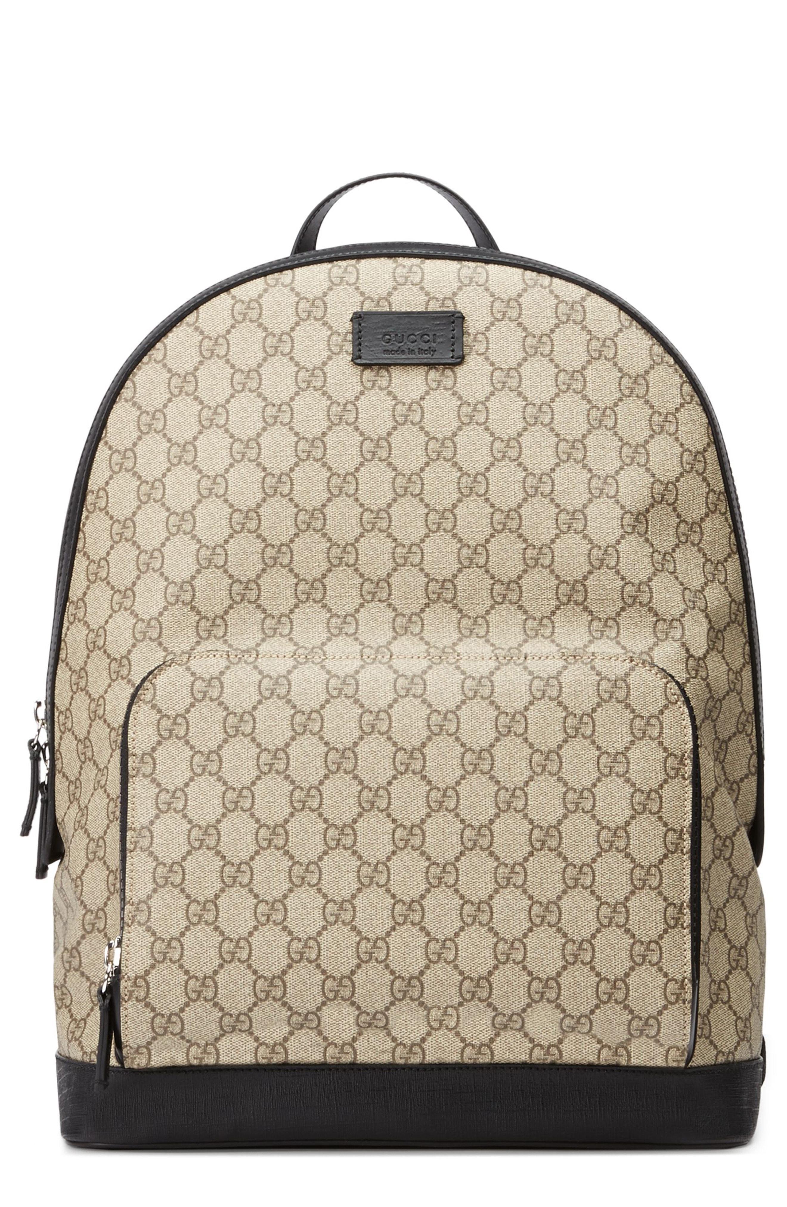 babd000c8dd Gucci Gg Supreme Print Backpack