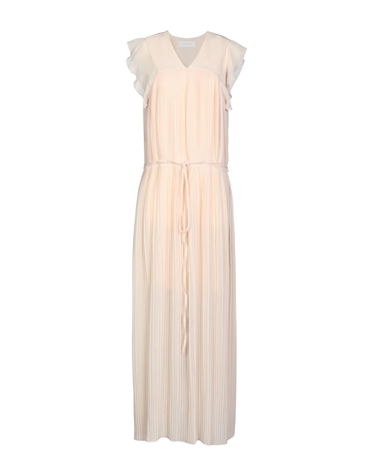 Long Dress In Pale Pink