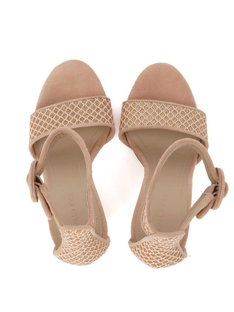 f497cf2215f kylie Sandal Glitter Kendall Giselle Pink KendallKylie Fabric Ang 8wOkP0n