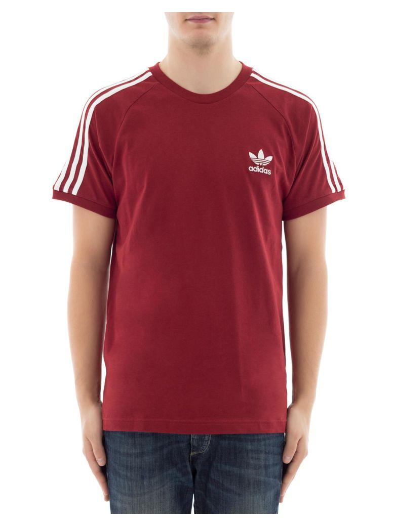 Adidas Originals Bordeaux Cotton T-shirt   ModeSens