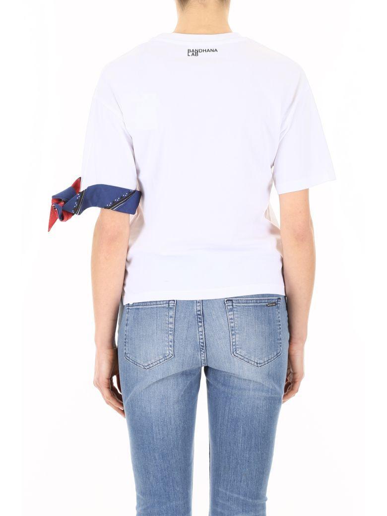 ad0c62a053639 Red Valentino Bandana Cotton T-Shirt In White