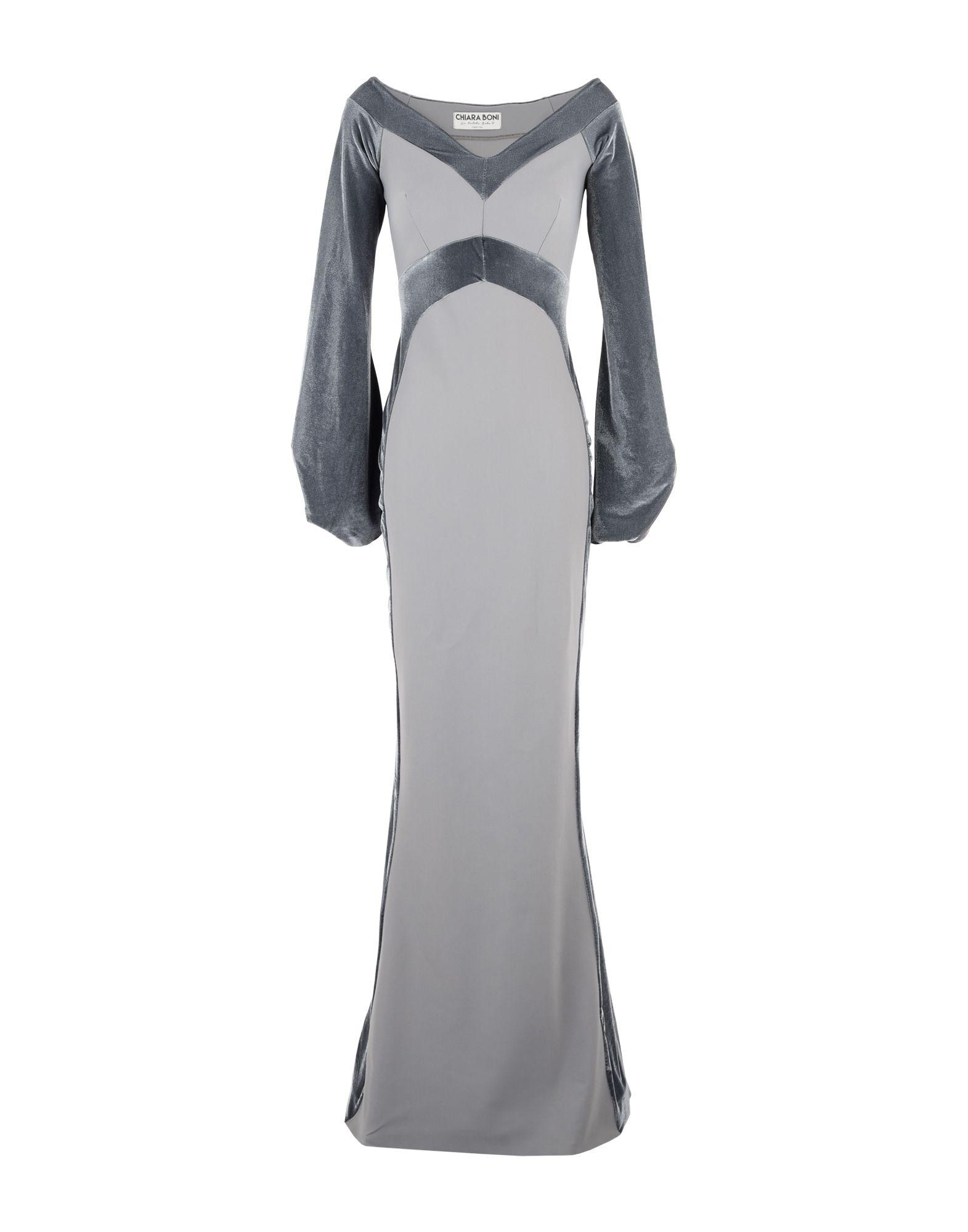 7621fabc04f Chiara Boni La Petite Robe Long Dress In Grey