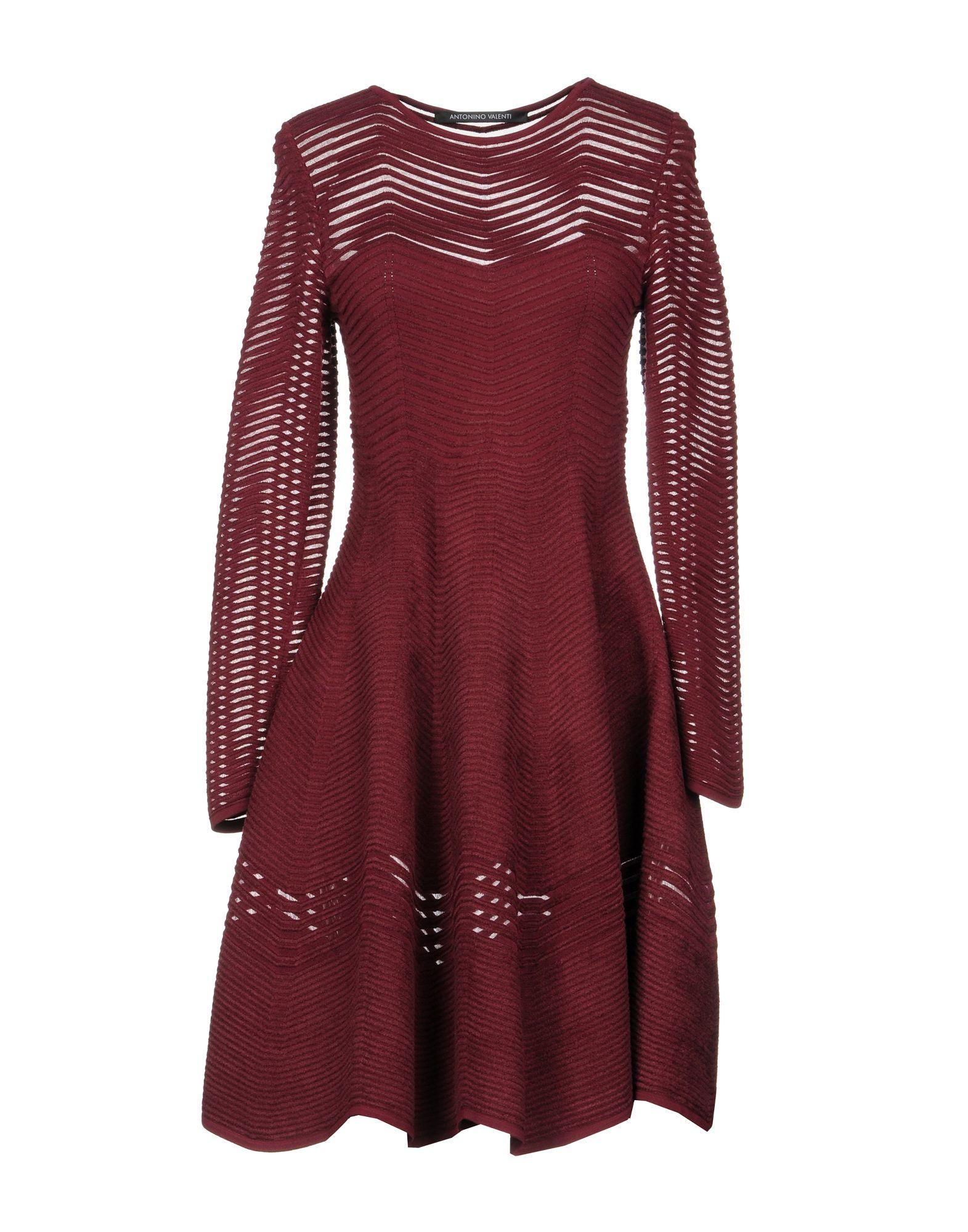 sneakers for cheap 08b8b 998af Short Dress in Maroon