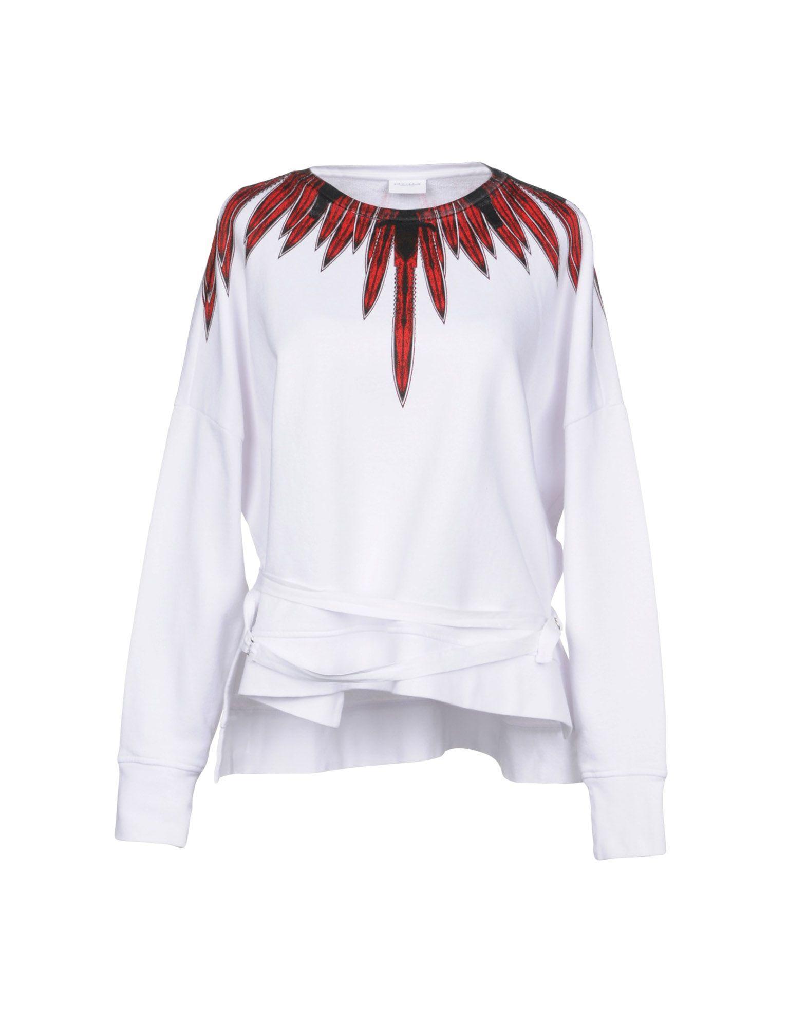 9bacc9eba3a Marcelo Burlon County Of Milan Sweatshirts In White