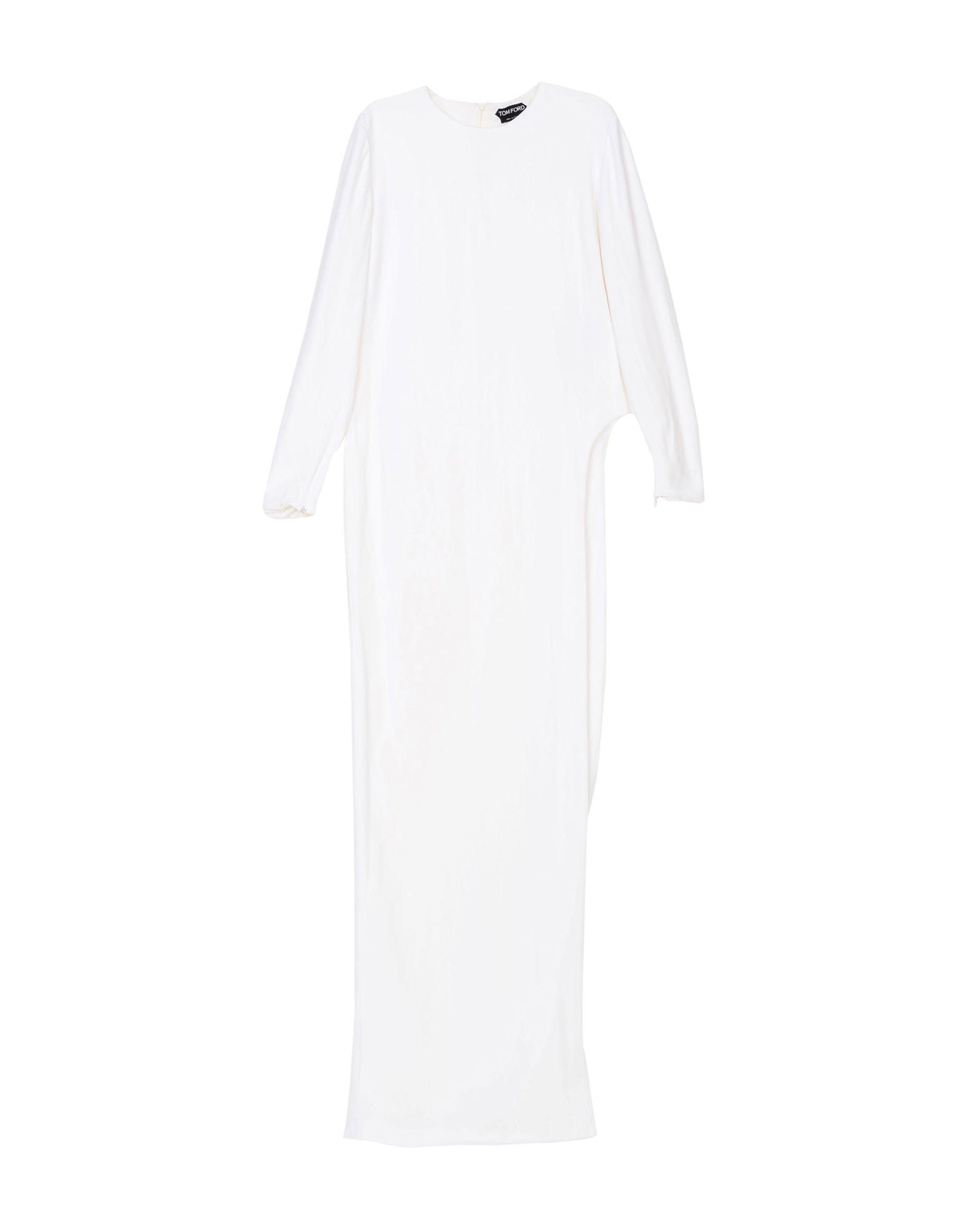 6d1a678daec Tom Ford Long Dresses In White