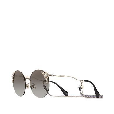 f6df71fc50f4 Miu Miu ManièRe Eyewear -- Limited Edition In Anthracite Gray To Lake Blue Gradient  Lenses