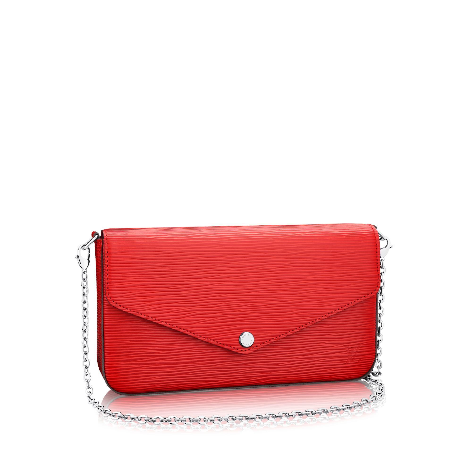 Louis Vuitton Pochette FÉLicie In Epi Leather  d4d480555292d