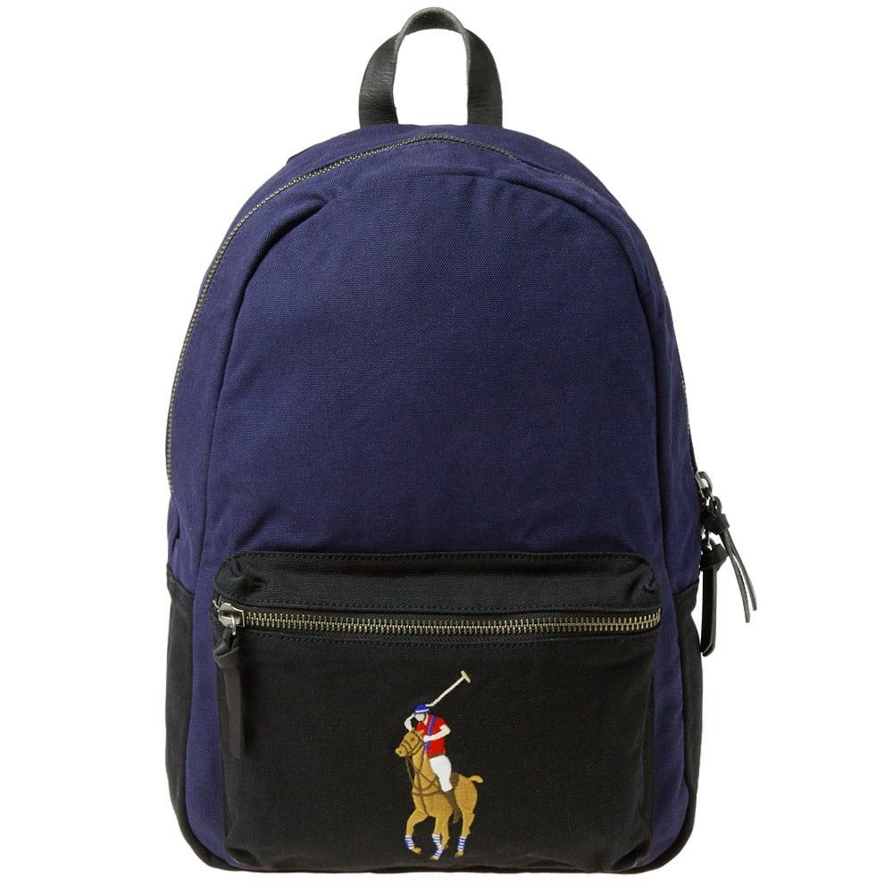 35960b3b9e Polo Ralph Lauren Polo Player Canvas Backpack In Blue