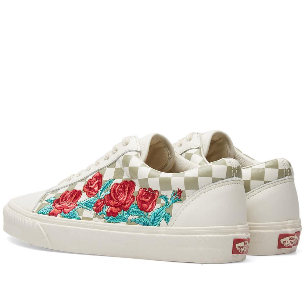 Vans Old Skool Dx Rose Embroidery In Neutrals  5374ec6c7