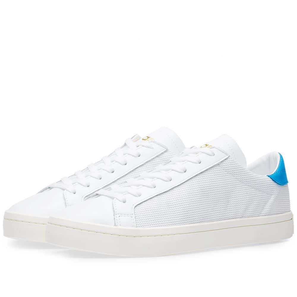 Adidas Court Vantage In White