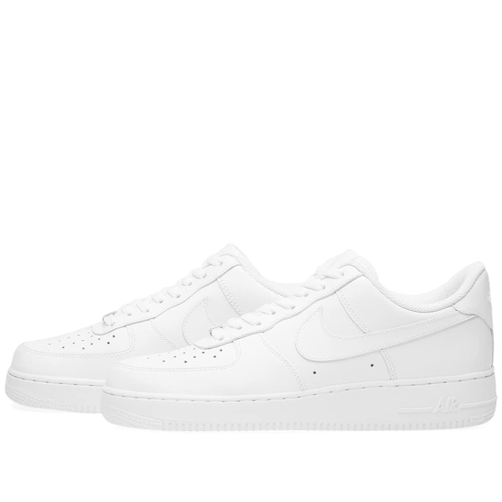 detailed look dfaae e7978 Nike Women s Air Force 1 Low Casual Shoes, White
