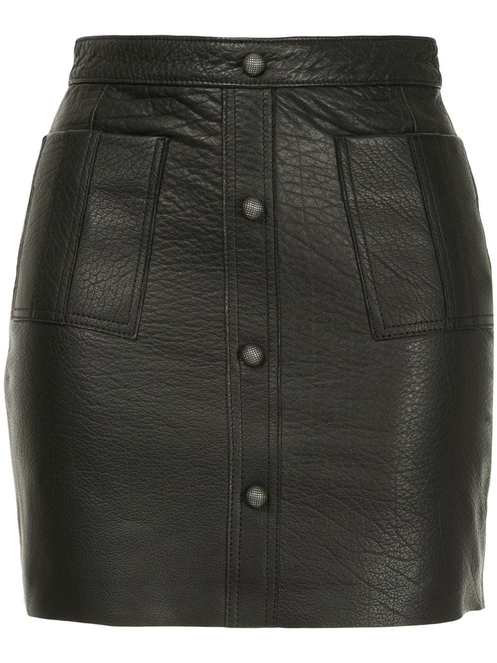 829a5b2f6 Aje Shrimpton Mini Skirt - Black | ModeSens