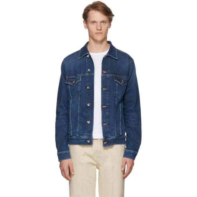 72dfc174 Tiger Of Sweden Jeans Blue Denim Primal Jacket In 221 Blue   ModeSens