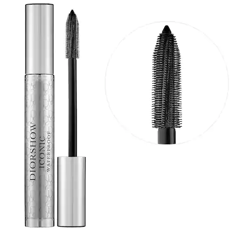 DIOR SHOW ICONIC WATERPROOF MASCARA EXTREME BLACK 0.27 OZ/ 8 ML
