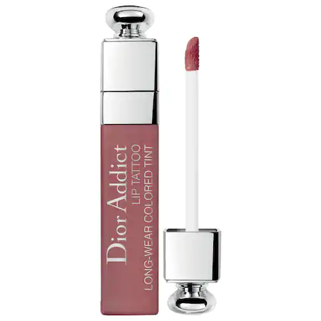 Dior Addict Lip Tattoo Long-Wearing Color Tint - 491 Natural Rosewood In Beige