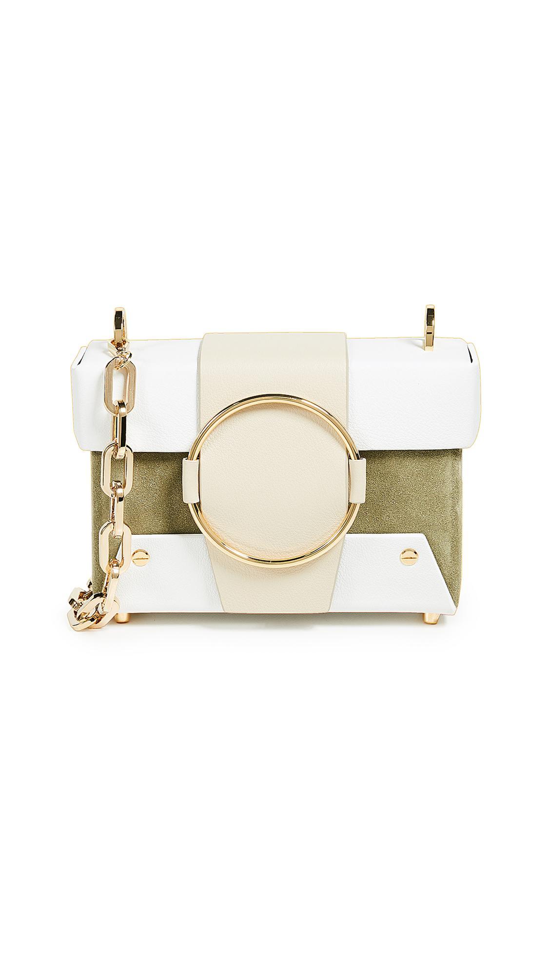 Yuzefi Asher Box Bag In Bamboo Bianco Modesens