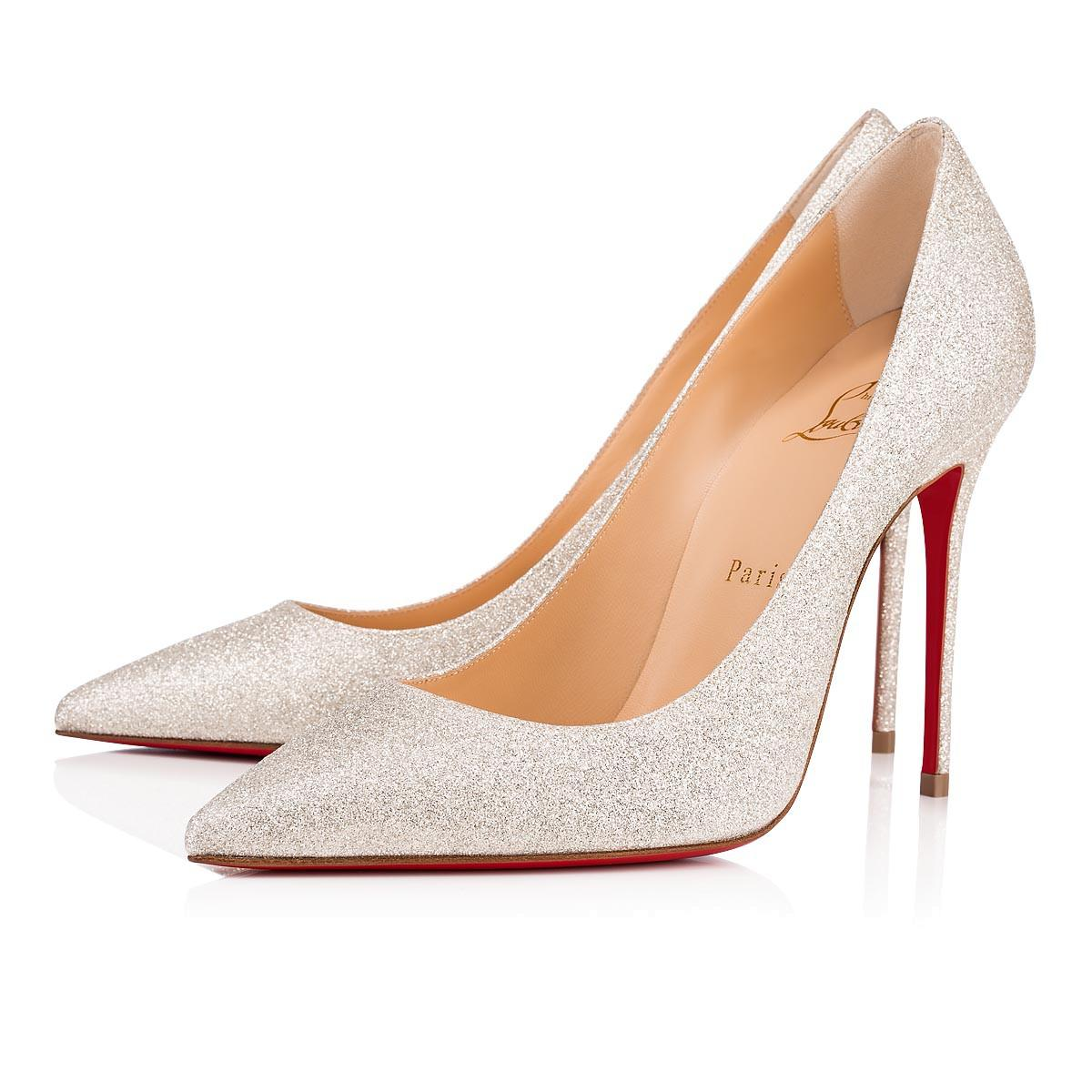 6a22dd21cc2a Christian Louboutin Decollete 554 In Ivory