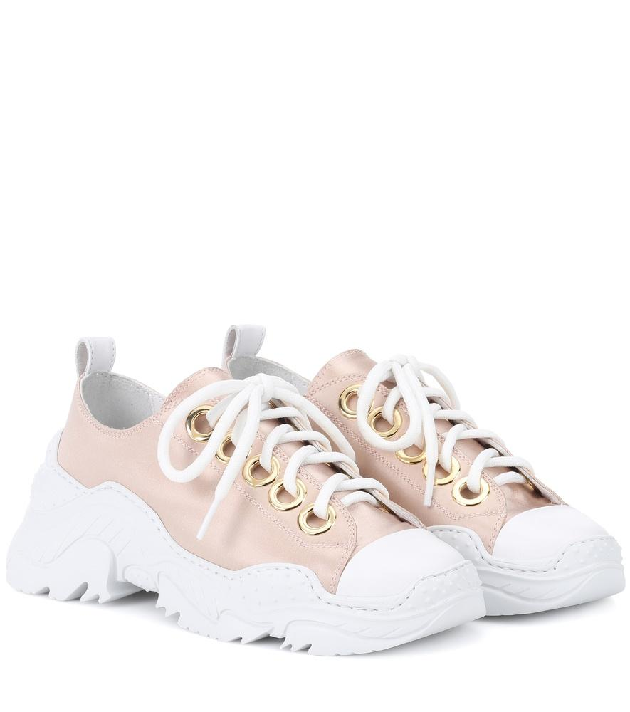 Neutrals Sneakers Sole Satin Nº21 Chunky In Pink mN8n0w