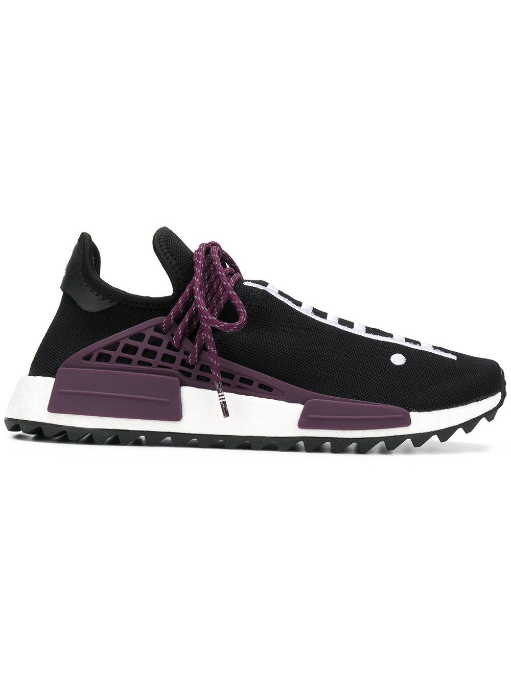 size 40 9ff09 973cf Adidas By Pharrell Williams Hu Holi Nmd Sneakers - Black