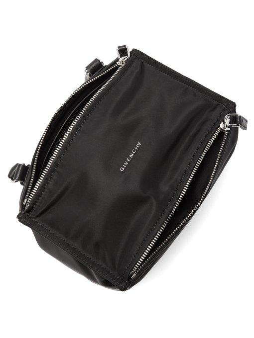 Givenchy Pandora Pepe Medium Leather Messenger Bag - Black  1e145d15d2ecc