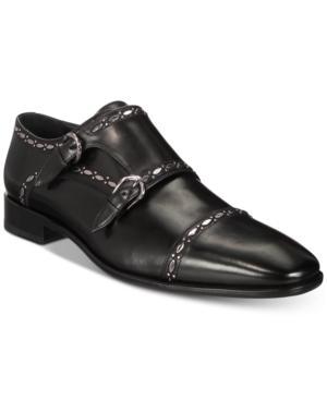 4db37a2248a Roberto Cavalli Men s Cap Toe Double-Buckle Monk Strap Loafers Men s Shoes  ...