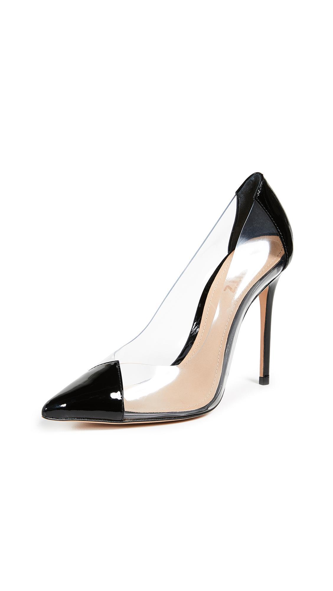 72e7cbfa66848 Schutz Women s Cendi Patent Leather High-Heel Pumps In Black