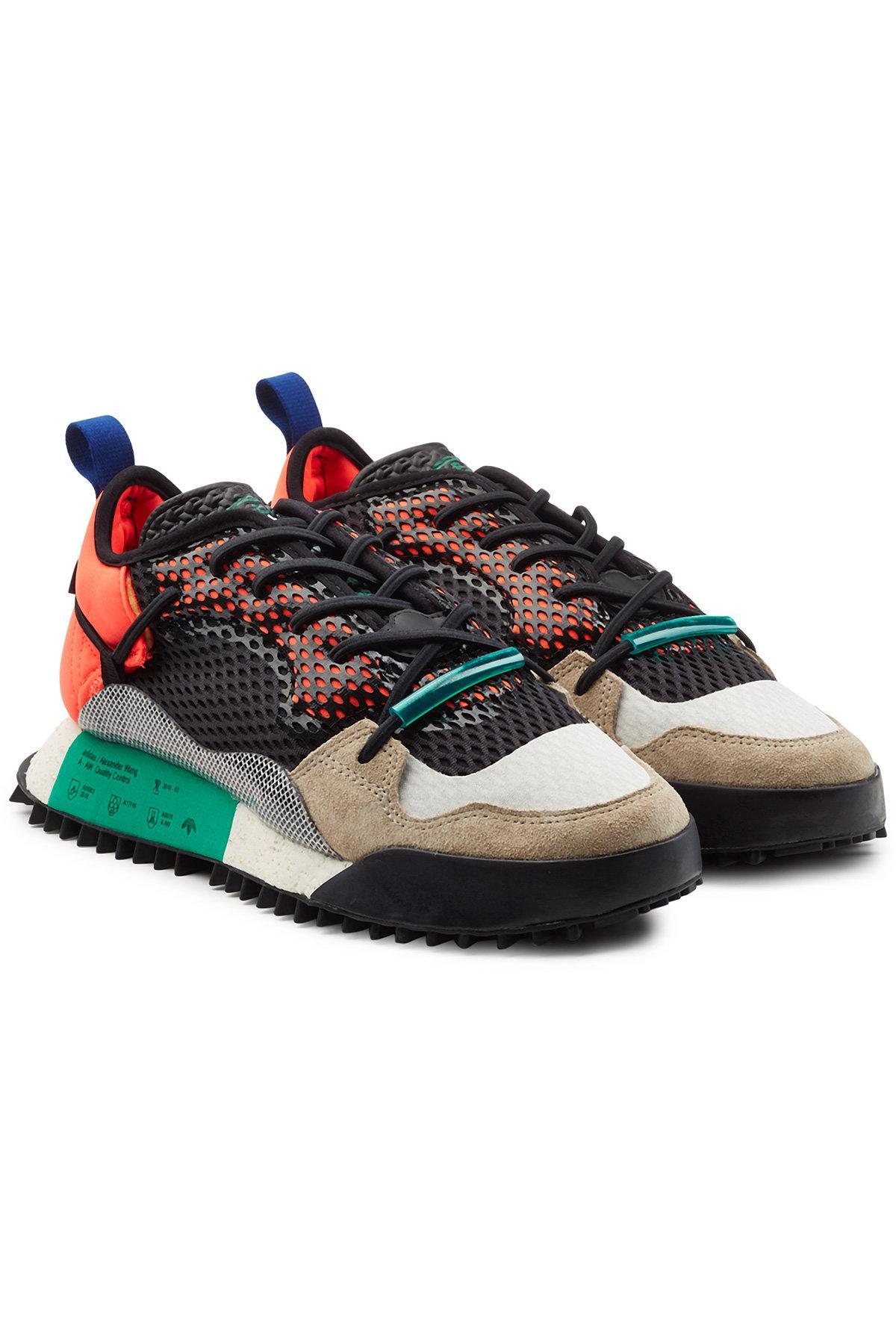 cráter cáncer El uno al otro  Adidas Originals By Alexander Wang Reissue Run Sneakers In Multicolored    ModeSens