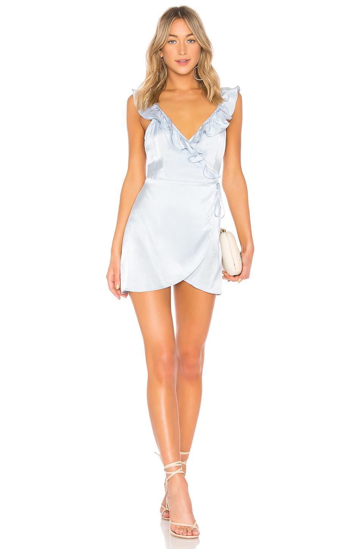 b7134c4dd847 Privacy Please Fillmore Mini Dress In Baby Blue. | ModeSens
