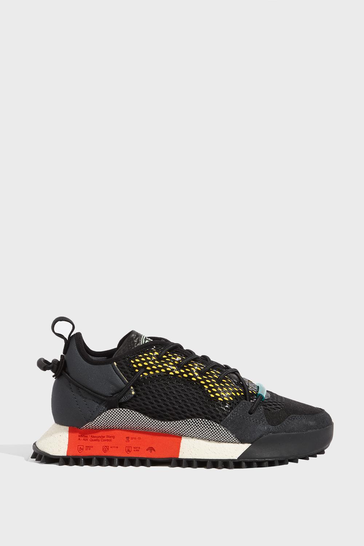 best deals on ad084 3d827 Adidas Originals By Alexander Wang Adidas By Alexander Wang Reissue Run In  Black In Grey