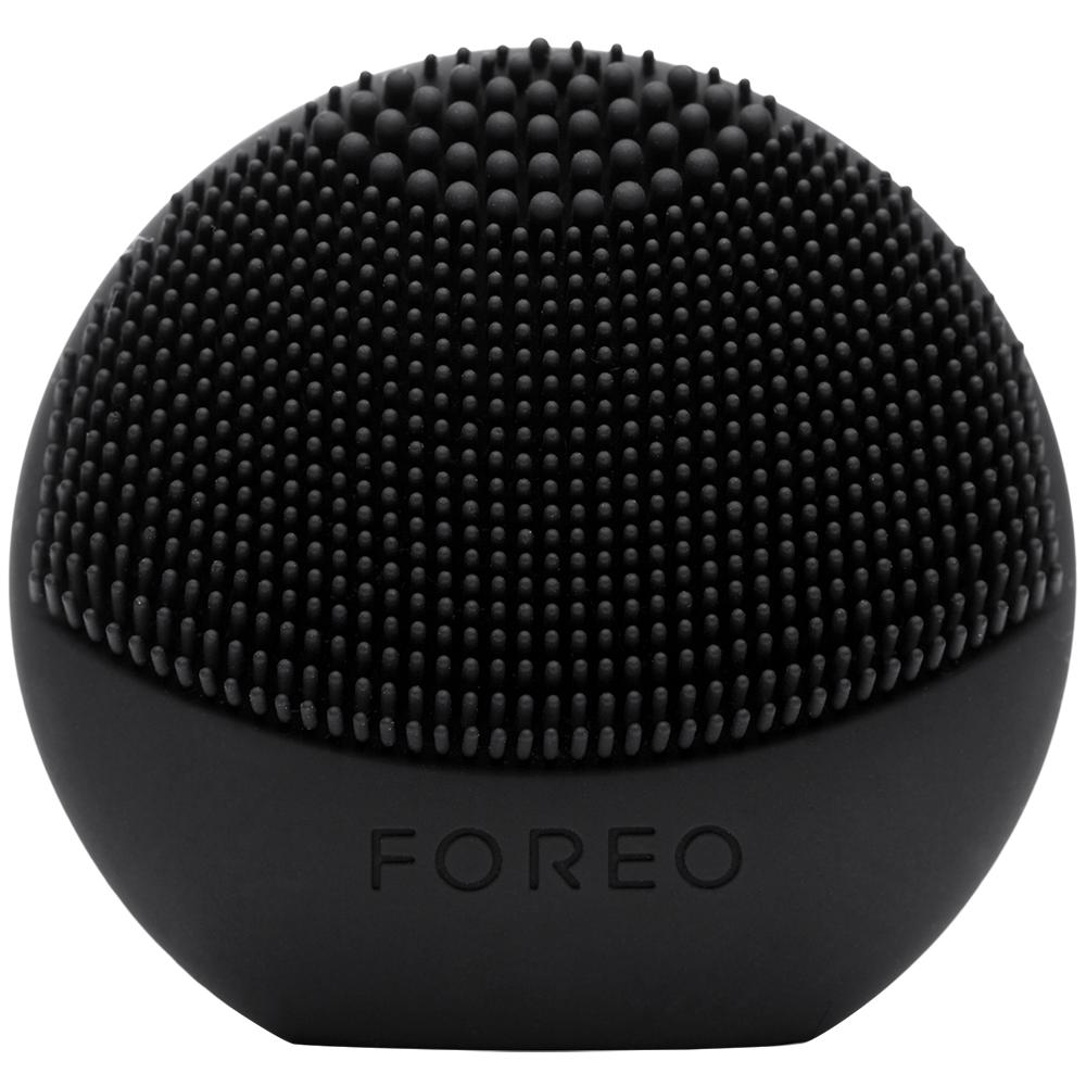 FOREO LUNA PLAY FUN AND AFFORDABLE FACE BRUSH MIDNIGHT BLACK