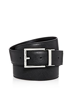 Bally Astor Reversible Leather Belt, Black