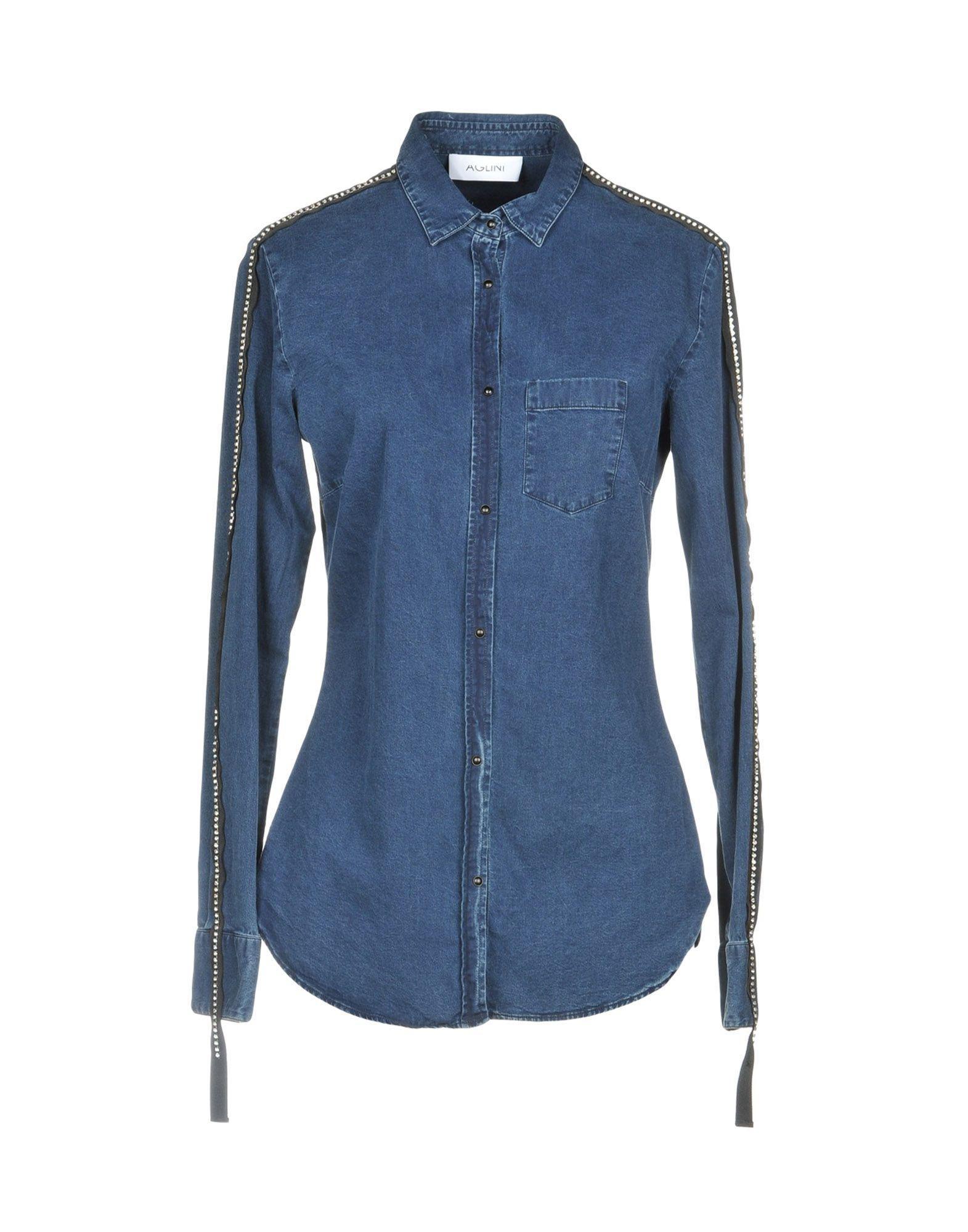data di rilascio: design di qualità risparmia fino all'80% Denim Shirt in Blue