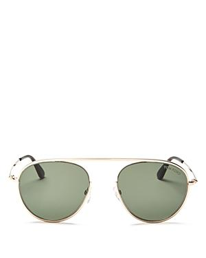 603c69bc5e Tom Ford Keith Men s Round Brow-Bar Metal Sunglasses In Brown