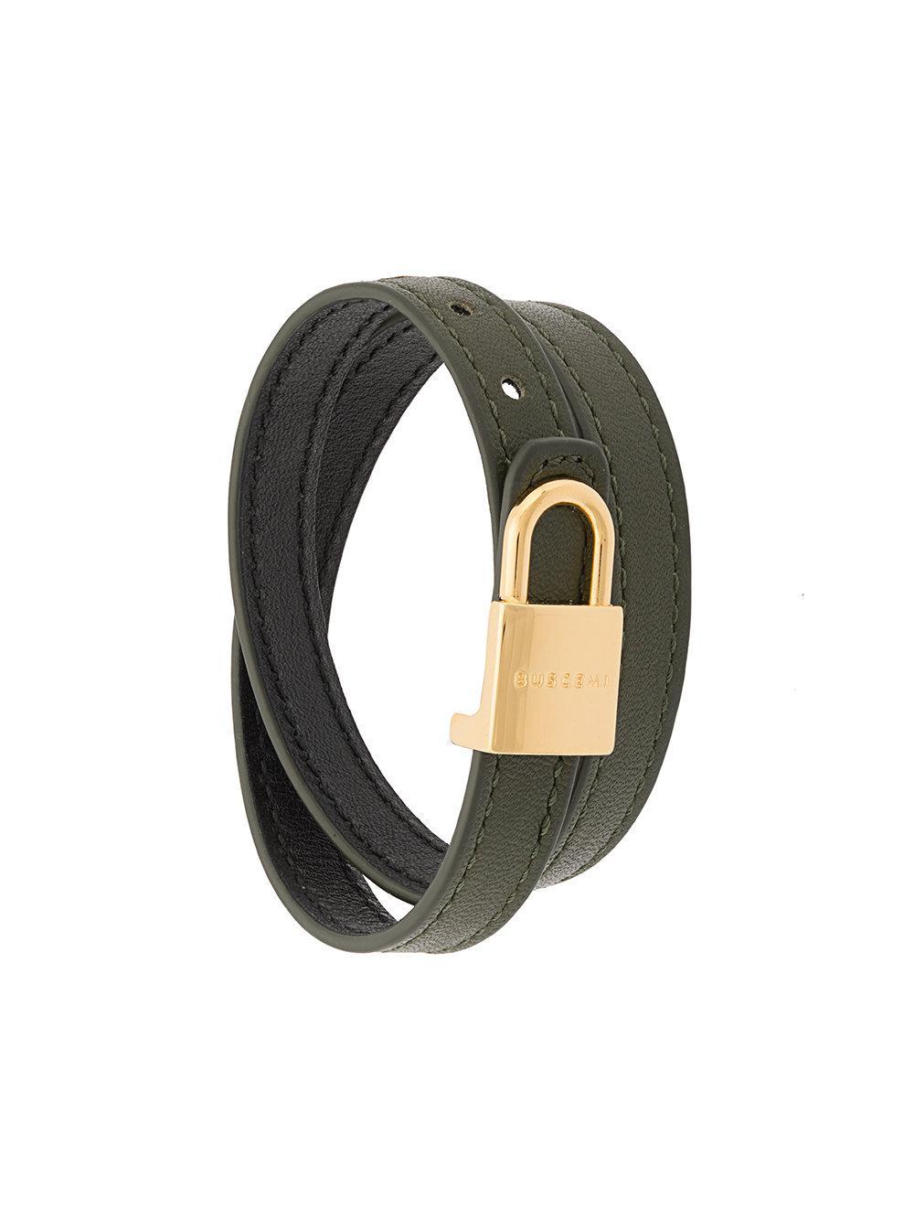 36517df6a9cc8 Buscemi Wrap Around Lock Bracelet - Pink | ModeSens