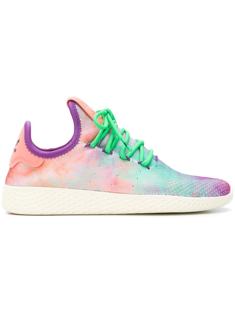 9fe8737cb Adidas Originals Adidas Pharrell Williams Hu Holi Tennis Hu Mc Sneakers -  Multicolour
