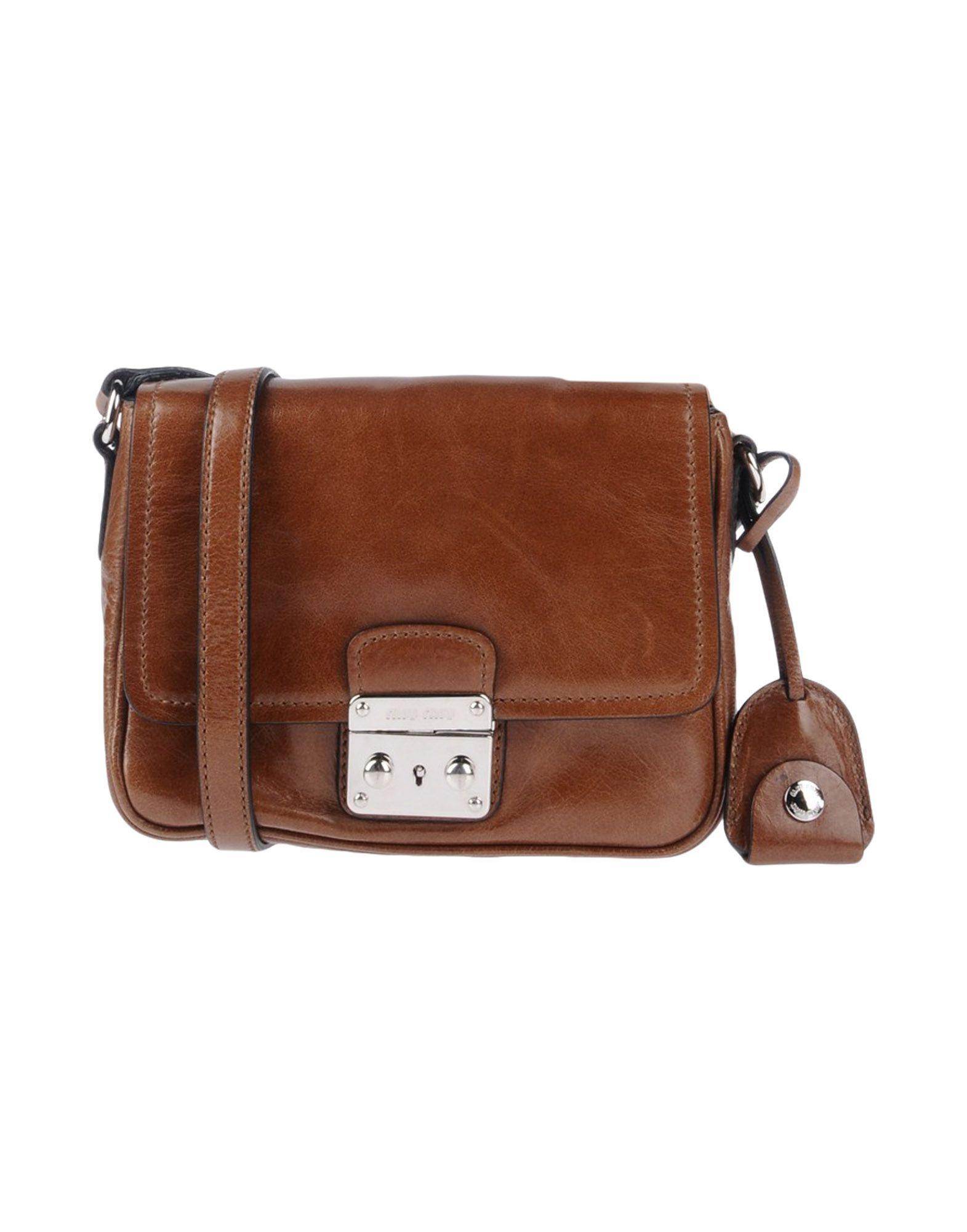 fb279b325256 Miu Miu Handbags In Brown