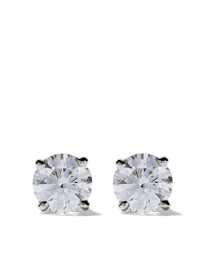 bd351819f De Beers Platinum My First Db Classic Diamond Stud Earrings | ModeSens