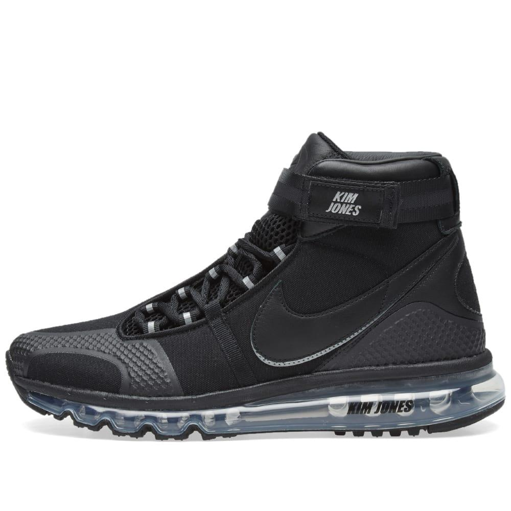 premium selection 7fe83 bb88e Nike Black Kim Jones Edition Air Max 360 High-Top Sneakers