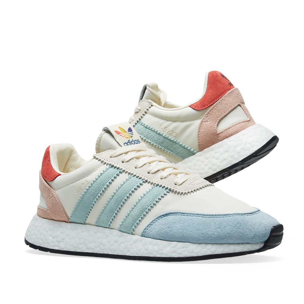 reputable site 2001a 5a9fc Adidas Originals Adidas Original Sneakers I-5923 Pride In Nylon With Rainbow  Details In White