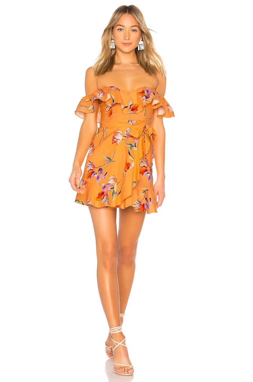 015605783d8 Privacy Please Bellview Mini Dress In Orange. In Orange Cassie ...