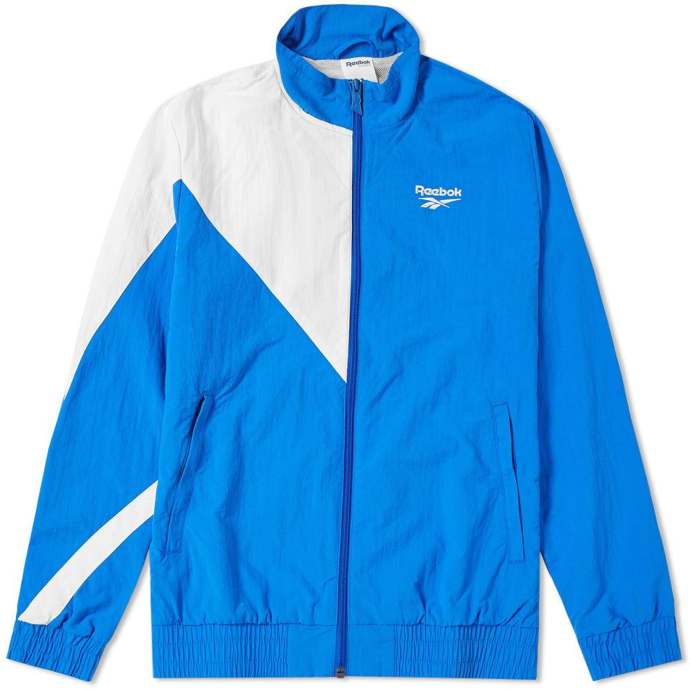 c8ff9e07 Reebok Classics Blue And White Lf Track Jacket