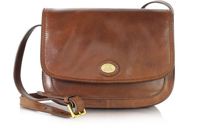 0f892ccb66414 The Bridge Story Donna Marrone Leather Crossbody Bag In Dark Brown ...
