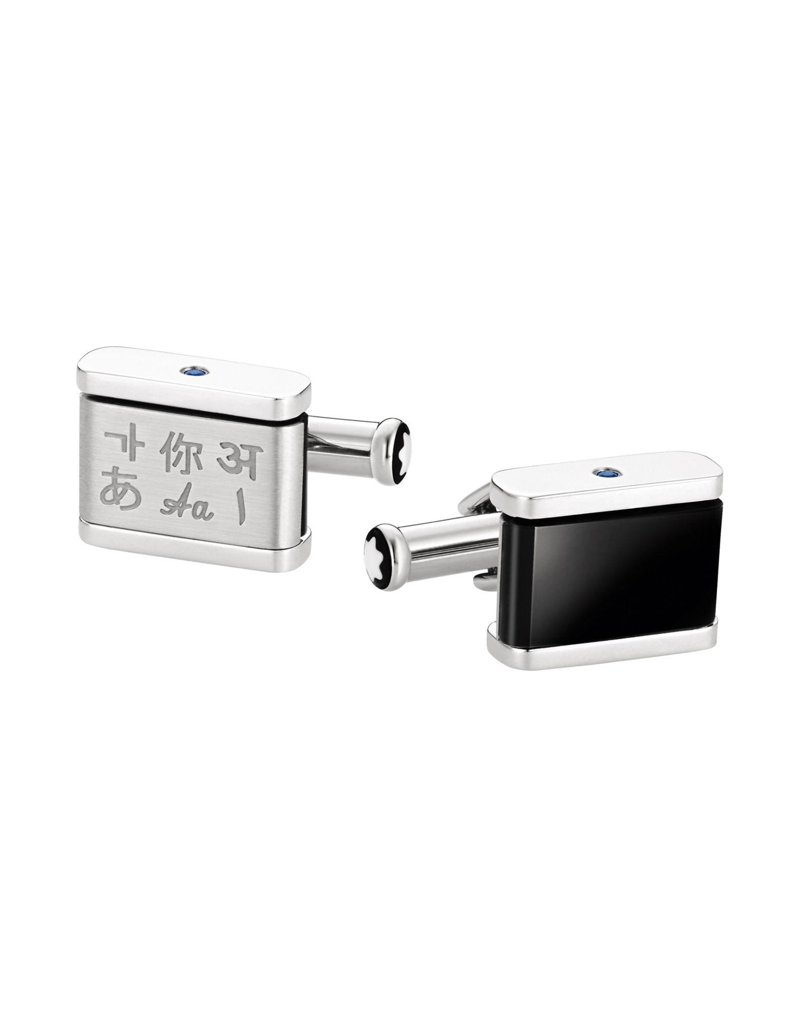 db3acaba2e2e Montblanc Cufflinks And Tie Clips In Silver | ModeSens