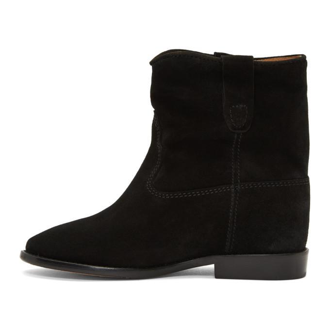 e22bbfa6e42 Isabel Marant Woman Crisi Suede Ankle Boots Black | ModeSens