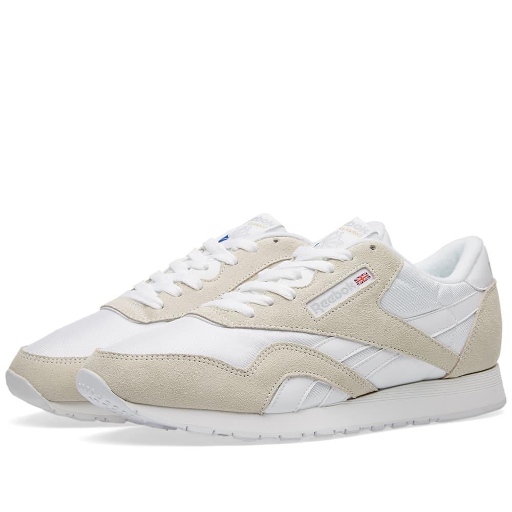 7323e38a14dc5 Reebok Classic Nylon Og In White