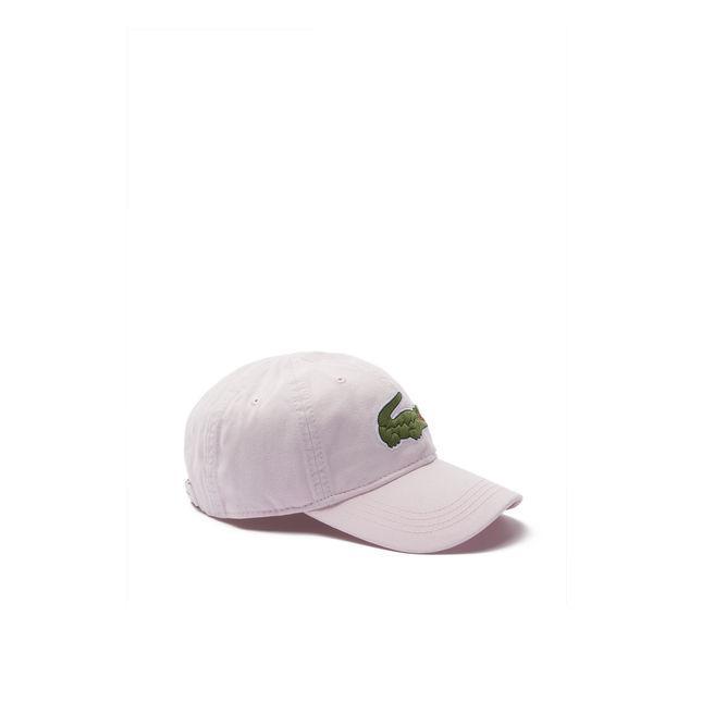 83543d4de332 Lacoste Men s Big Croc Gabardine Cap In Light Pink