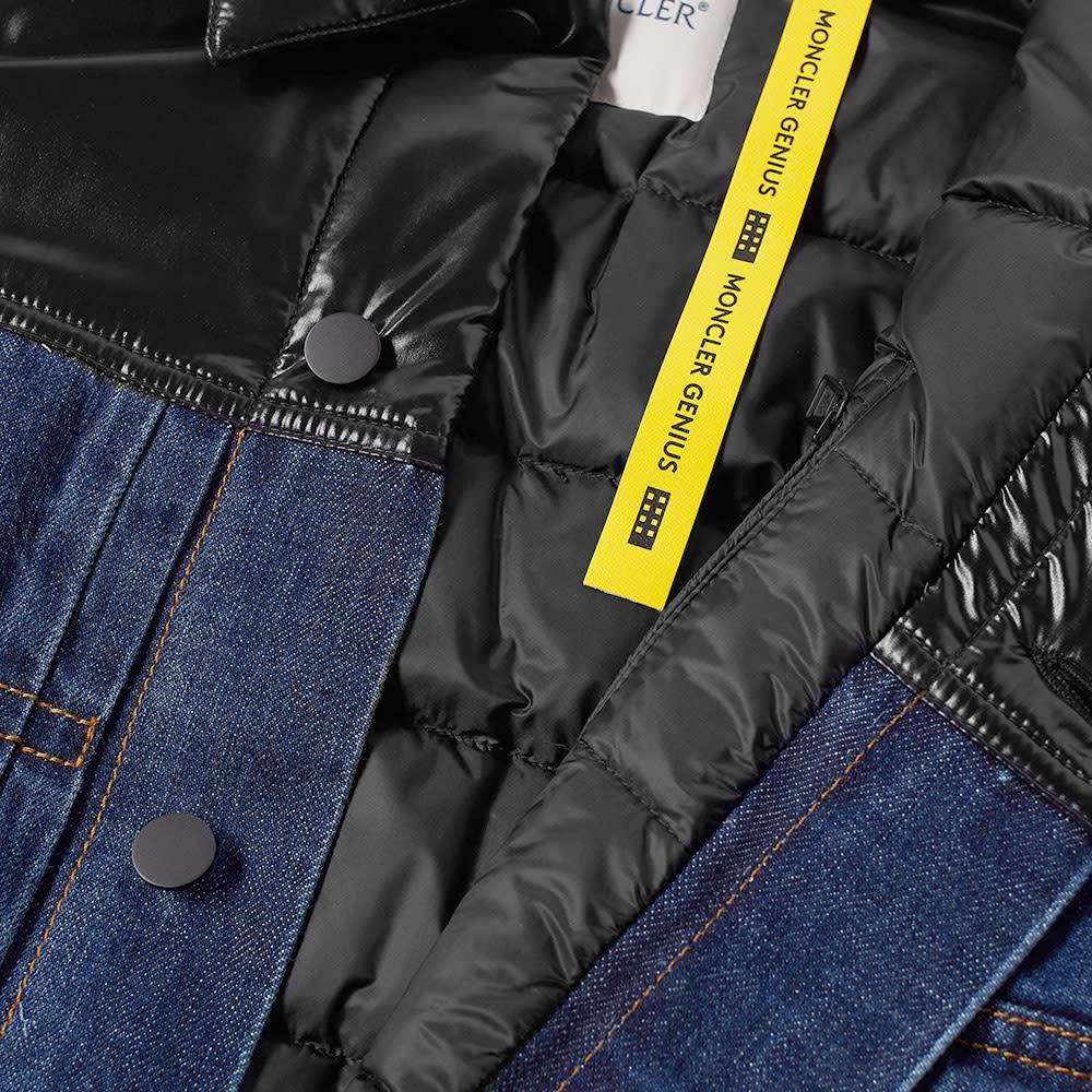 d290332bbd74 Moncler Genius 7 Moncler Fragment Hiroshi Fujiwara Denim Jacket With ...