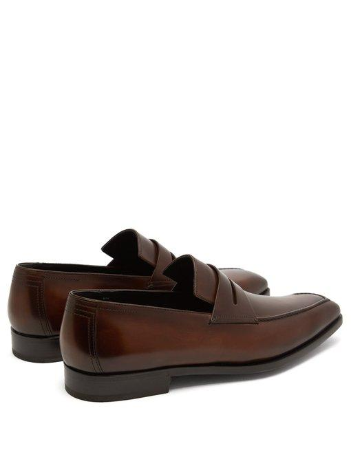 BERLUTI Andy Demesure leather loafers