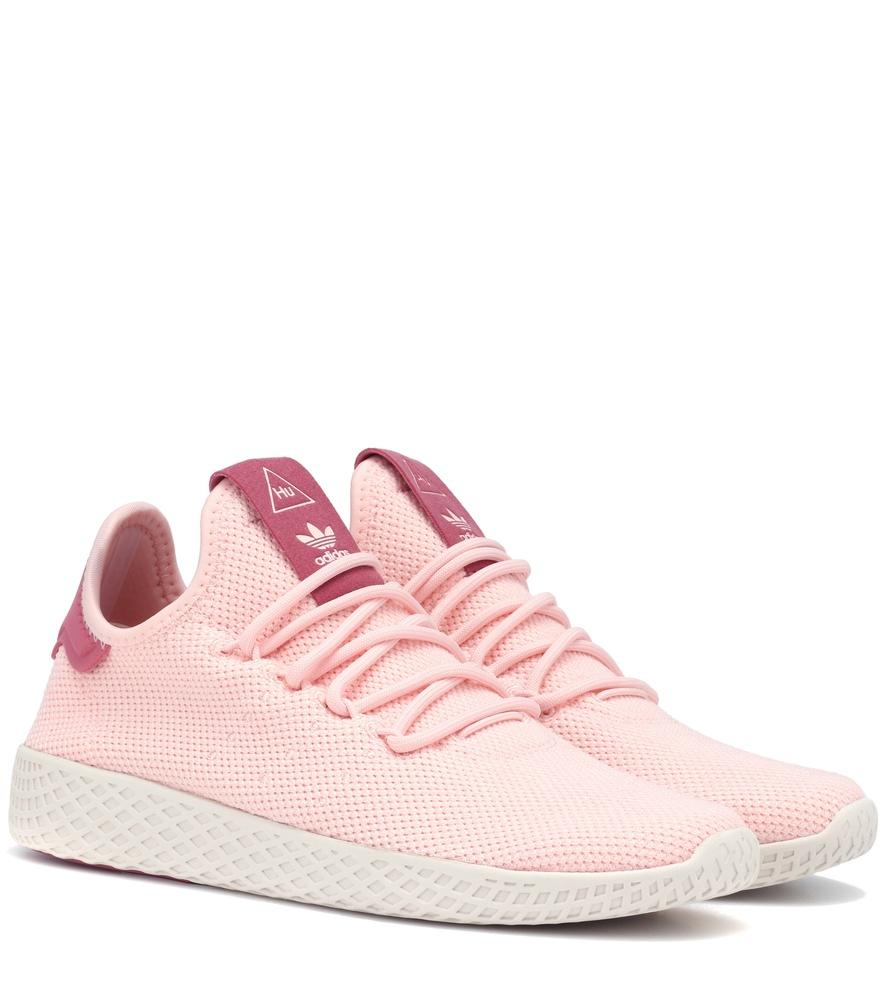 c32607f7f Adidas Originals X Pharrell Williams Tennis Hu Sneakers In Pink ...