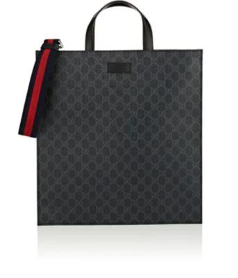 a658b9b9bf6 Gucci Soft Gg Supreme Tote In Black